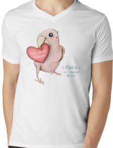 Rhea - Love What's Different Mens V-Neck T-Shirt