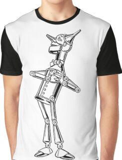 Wizard of Oz ,The Tin Man Graphic T-Shirt