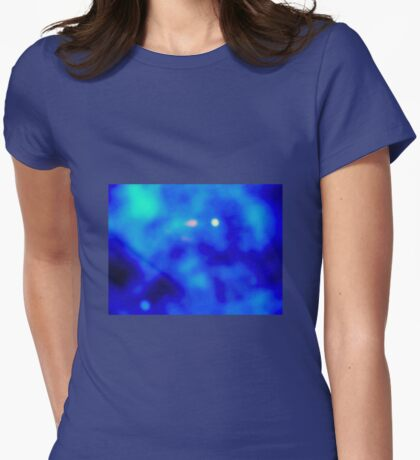 FURTHER IN THE GALAXY Womens Fitted T-Shirt