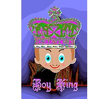 Toon Boy King. No 4a in a Toon Boy Series Photographic Print