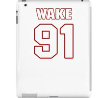 NFL Player Cameron Wake ninetyone 91 iPad Case/Skin
