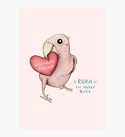 Rhea - Love What's Different Photographic Print