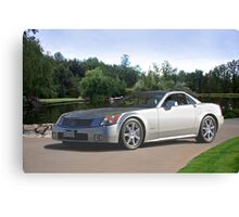 2007 Cadillac XLR Sports Coupe Canvas Print