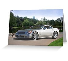 2007 Cadillac XLR Sports Coupe Greeting Card