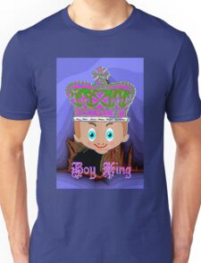 Toon Boy King. No 4a in a Toon Boy Series Unisex T-Shirt