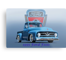 1955 Ford F100 Pickup  Metal Print
