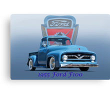 1955 Ford F100 Pickup  Canvas Print