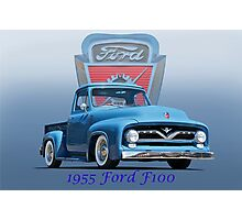 1955 Ford F100 Pickup  Photographic Print