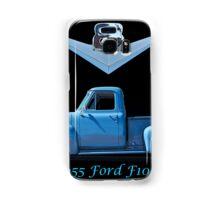 1955 Ford F100 V8 Pickup in Profile Samsung Galaxy Case/Skin