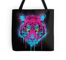 CMYK tiger Tote Bag