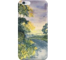 Wild Roses on the Wolds iPhone Case/Skin