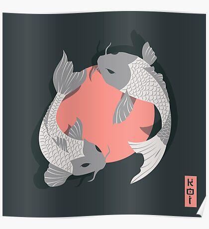 Koi Fish 002 Poster