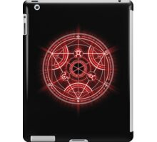 Human Transmutation Circle - Red iPad Case/Skin