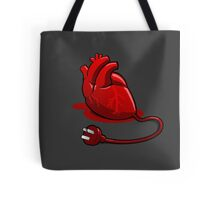 Unplug your heart Tote Bag