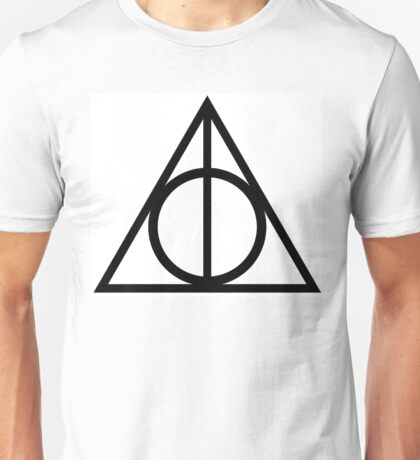 Deathly Hallows Symbol - Harry Potter Unisex T-Shirt