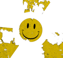 Nuclear smile : ) Sticker