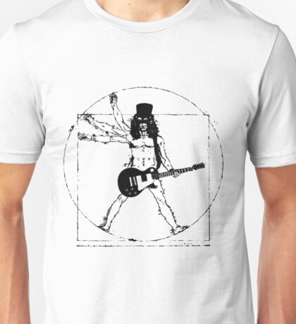 slash with guitar Unisex T-Shirt