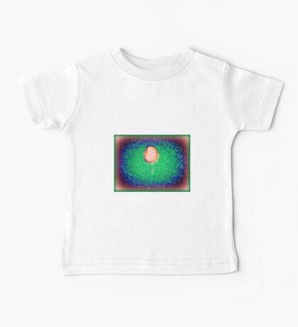 CRESCENT ABSTRACT Baby Tee