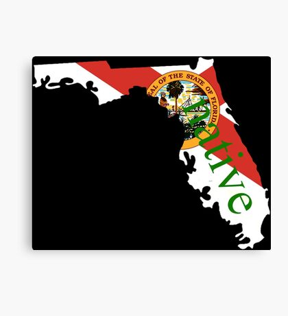 Native Floridian  Canvas Print