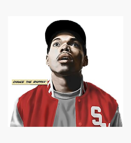 Chance the Rapper x Ten Day Photographic Print