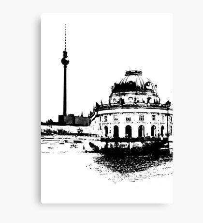 Bode Museum Berlin Canvas Print