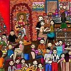 Le Café Heureux (The Happy Café) by Laura Hutton