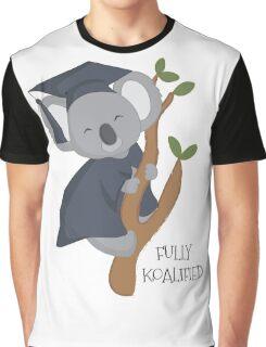 Fully Koalified koala Graphic T-Shirt