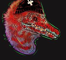 Punk Raptor by Rufinator