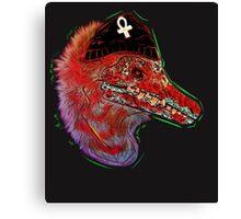 Punk Raptor Canvas Print