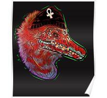 Punk Raptor Poster
