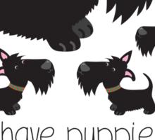 I have puppies instead of children . . . Sticker