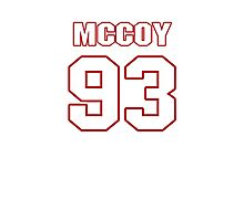 NFL Player Gerald McCoy ninetythree 93 Photographic Print
