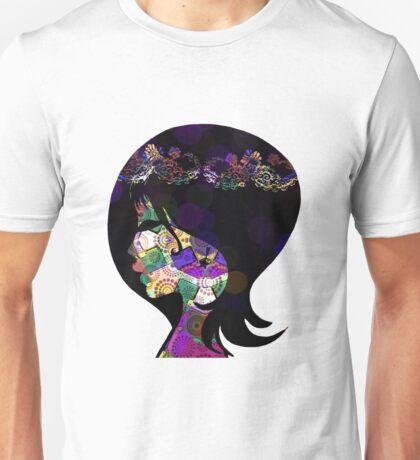 Illustrated woman 4 Unisex T-Shirt