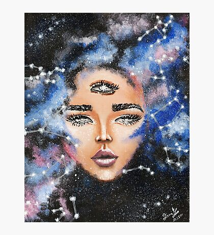 Astral Acrylic painting Photographic Print