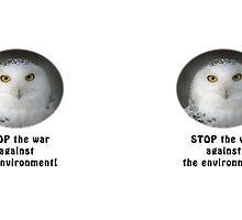 Snowy Owl Environmentalist by Thomas F. Gehrke
