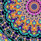 Ornate Spectral Abstract by Phil Perkins