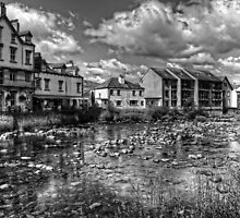 River Greta B&W by Tom Gomez