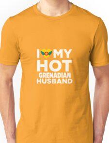 I Love My Hot Grenadian Husband Unisex T-Shirt
