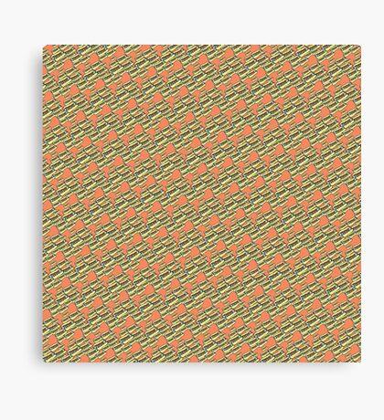 Skeeter Hotdog Canvas Print