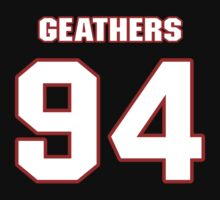 NFL Player Clifton Geathers ninetyfour 94 T-Shirt