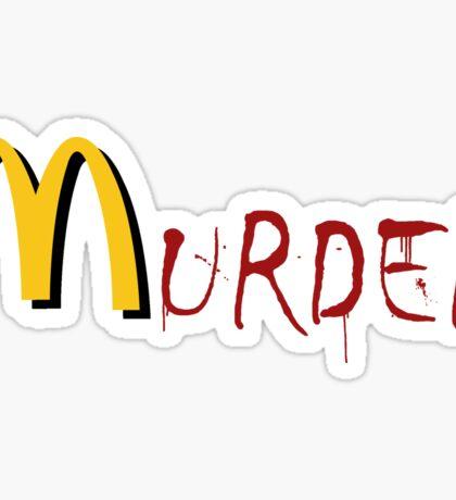 McMurder Sticker