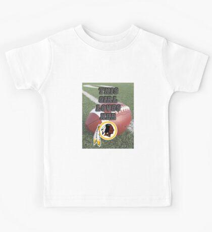 Redskins Love Kids Tee