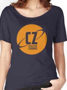 Crossing Zebras Orb Graphic Women's Relaxed Fit T-Shirt