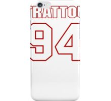 NFL Player Justin Trattou ninetyfour 94 iPhone Case/Skin