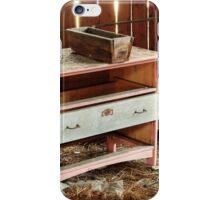 5.11.2014: Old Drawer in Abandoned Hayshed iPhone Case/Skin