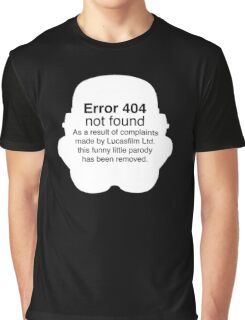 Error 404 Graphic T-Shirt