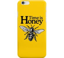 Time Is Honey Beekeeper Quote Design iPhone Case/Skin
