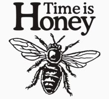 Time Is Honey Beekeeper Quote Design Kids Clothes