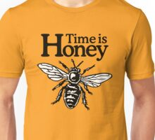 Time Is Honey Beekeeper Quote Design Unisex T-Shirt