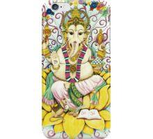 Ganesha Hindu elephant God - remover of obstacles iPhone Case/Skin